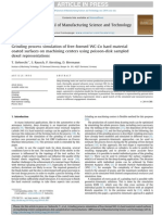 Grinding Process Simulation of Free Formed WC Co Hard Material Coated Surfaces on Machining Centers Using Poisson Disk Sampled Dexel Representations 2014 CIRP Journal of
