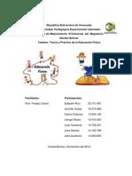 Trabajo de Teoria y Practica de La Educacion Fisica I