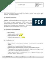 Ma 001 - Dureza Total