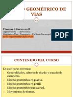 1. Introducción, Criterios y Trazado.