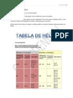 Tabela de Helices