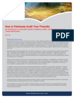 Auditing Your Firewalls