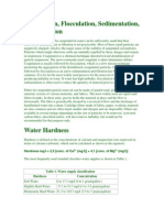 Water Treatment (Coagulation,Floculation,Sedimentation)