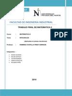 Proyecto Matematica II Final