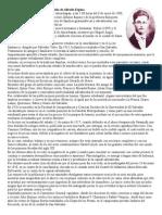 Biografía de Alfredo Espino