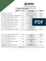 Matriz Curricular - Professores - 1º Período - Alterada