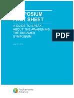 Symposium Fact Sheet