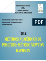Metodos Numericos Newton Raphson