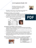 Status of World Evangelization Spanish