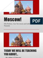 moscow quiz and dance