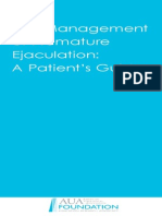 Management of Premature Ejaculation - 2007
