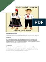 Bailes de La Región Andina