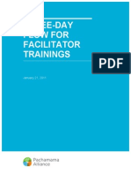 Facilitator Training 3-Day Flow