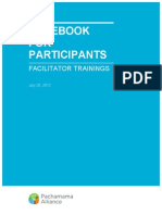 Facilitator Training Notebook for Participants