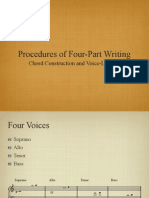 Procedure for Foru Part Writing