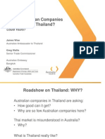 Which Australian Companies Are Thriving in Thailand
