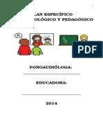 Libro Plan Especifico 2014