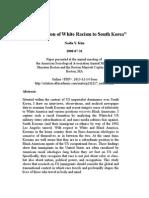 Nadia Kim - The Migration of White Racism to South Korea-V01