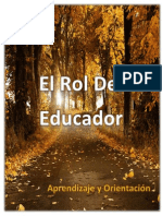 El Rol Del Educador