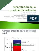 interpretacion de la calorimetra indirecta