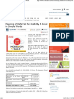 Meaning of Deferred Tax Liability & Asset in Simple Words1