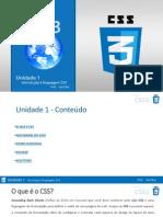 1 - Introdução Ao CSS 3