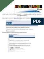 Instructivo Acceso Al Laboratorio Remoto - Netlab