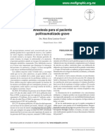 Anestesia Para Px Plitraumatizados