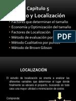 Cap. 5 Localizacion