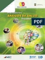 Indicadores Básicos de Salud. Ecuador 2011. MSP