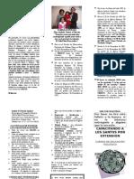 Capacitando Por Extension Folleto Informativo Agosto 2014