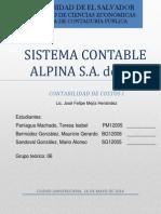 ALPINA SA de CV - Sistema Contable