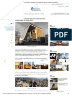 Plataforma Arquitectura - Minga Valpo