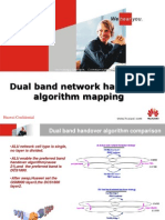 Dual Band Network Handover Algorithm Mapping