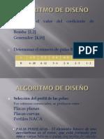 Algoritmo de Diseño