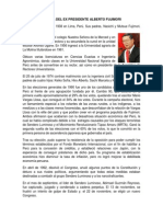 Presidente Alberto Fujimori