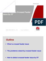 DT Analysis How to Analyze Crossed Feeder Issue