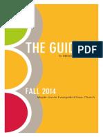 The Guide Fall 2014 Fall
