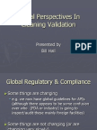 Global Perspectives in Cleaning Validation