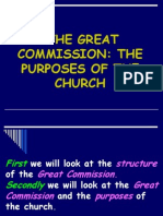 The Purposes of the Church -2