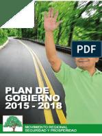Plan de Gobierno Seguridad y Prosperidad