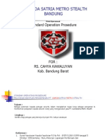 Sop Garda Satria Di RS Cahya Kawaluyaan