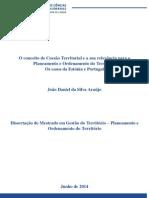 O conceito de Coesão Territorial e a sua relevância para o Planeamento e Ordenamento do Território - Os casos Estónia e Portugal