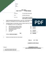 Nota Dinas Ke Sarparas Proposal Perlengkapan 2012