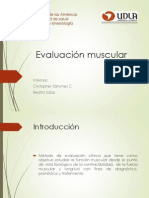 Evaluacion Muscular Ppt