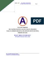 Plan de Gobierno APP