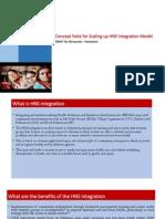Concept Note for HNS Integration Model