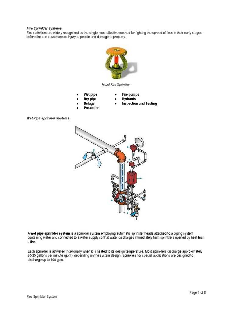 Fire sprinkler systems fire sprinkler system hydraulic engineering pooptronica