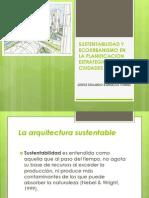 Sustentabilidad y Ecourbanismo en La Planificacion Estrategica