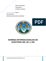 Normas Internacional de Auditoria 500 Final